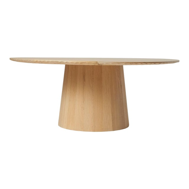 Oak Dining Table by Kaspar Hamacher For Sale
