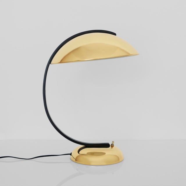 Bauhaus Brass Lamp For Sale In Los Angeles - Image 6 of 6