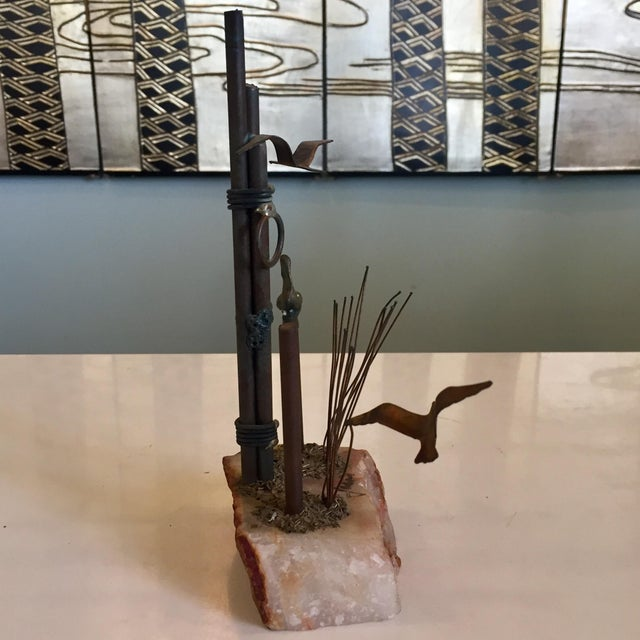 Mid-Century Nautical Sculpture For Sale - Image 4 of 7