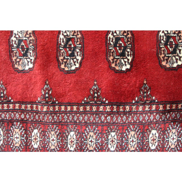 Pakistan Bokhara Hand-Knotted Runner - 2′8″ × 20′ - Image 4 of 7