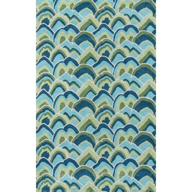 Green Madcap Cottage Embrace Cloud Club Green Area Rug 5' X 8' For Sale - Image 8 of 8