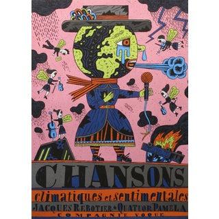 Chansons Climactiques Et Sentimentales, 2000 French Music Poster For Sale