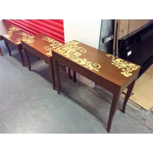 Contemporary Nesting Tables - Set of 3 - Image 7 of 8