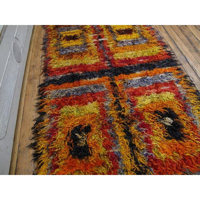 Islamic Four Squares, Angora Tulu Rug For Sale - Image 3 of 10