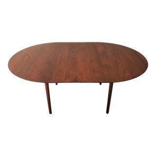 1950s Mid Century Modern Peter Hvidt & Orla Mølgaard-Nielsen Solid Teak Dining Table For Sale