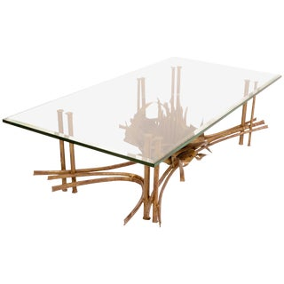 Water Lily Coffee Table in the Style of Silas Seandel For Sale