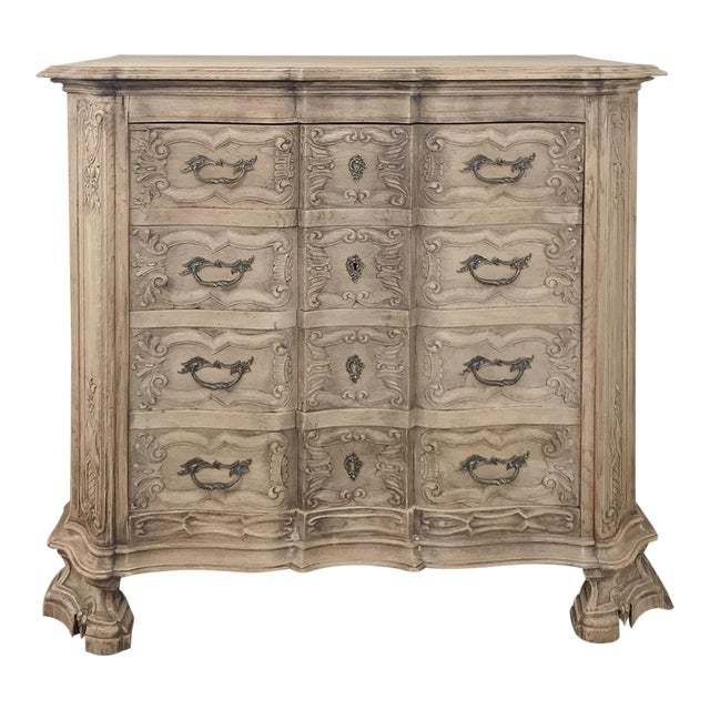 19th Century French Regence Buffet With Faux Drawer Façade For Sale