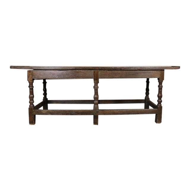 Jacobean Oak Refectory Table For Sale