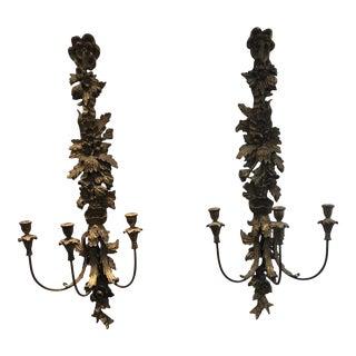 Antique Italian Sconces - a Pair For Sale