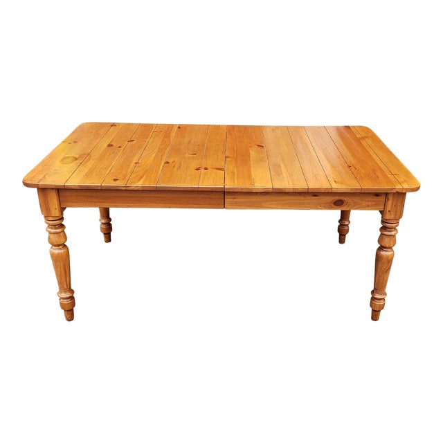Ethan Allen New Country Coffee Table: Ethan Allen Farmhouse Pine Coffee Table