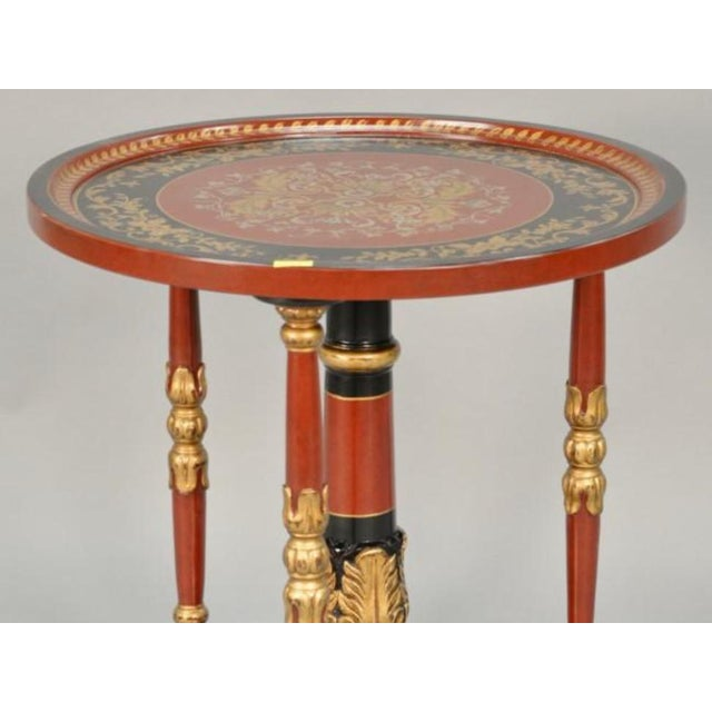 Colorful Accent Table For Sale - Image 5 of 6