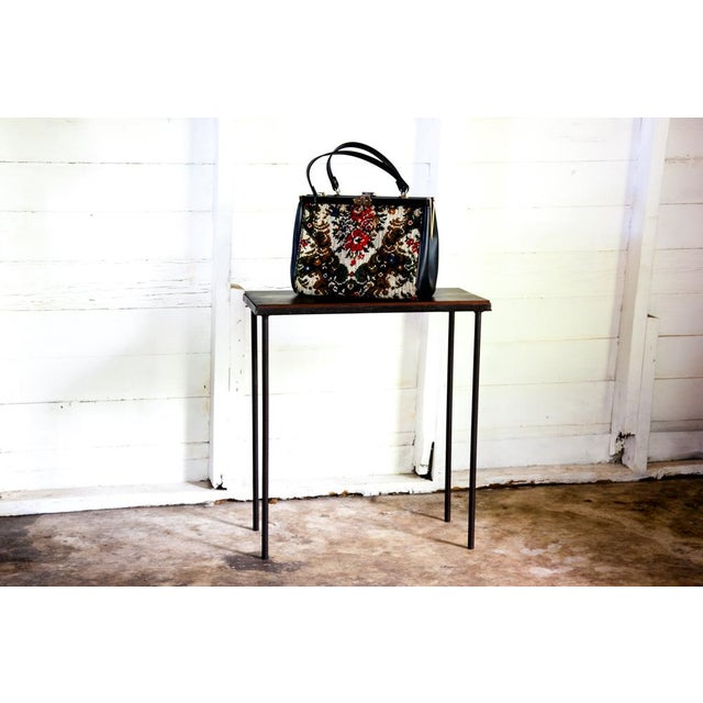Mid-Century Modern Hand-Bag Entry Table For Sale In San Antonio - Image 6 of 12
