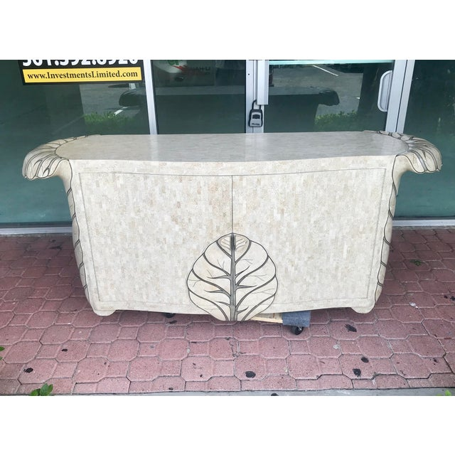 Maitland Smith Tessellated Stone Credenza For Sale - Image 12 of 12