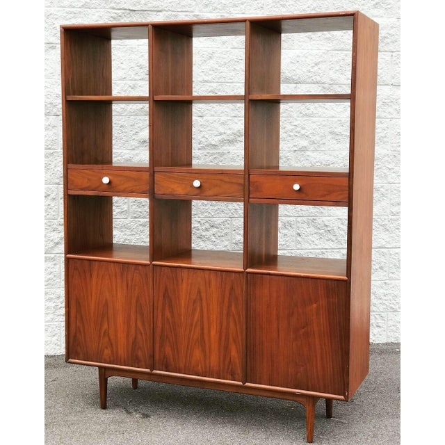 Mid Century Modern Drexel Declaration Wall Unit For Sale - Image 13 of 13