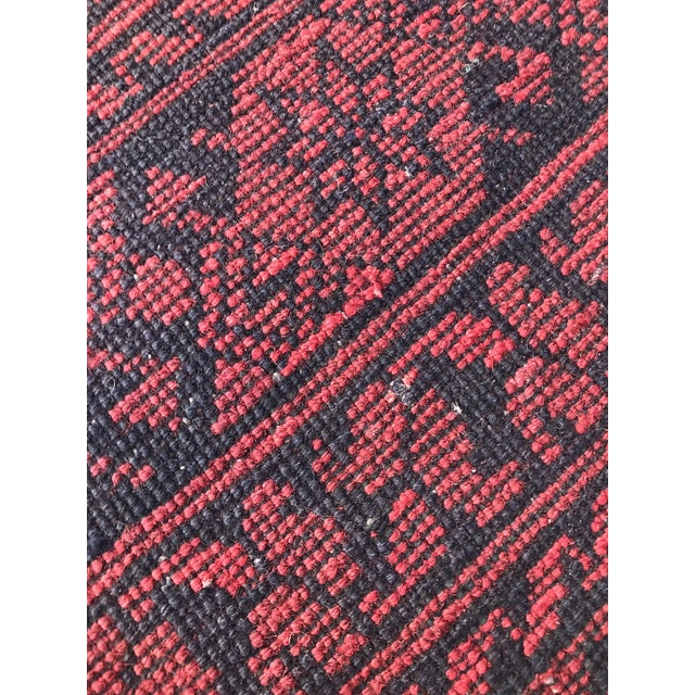 Vintage Hand-Knotted Wool Rug- 6′7″ × 10′7″ For Sale - Image 11 of 13