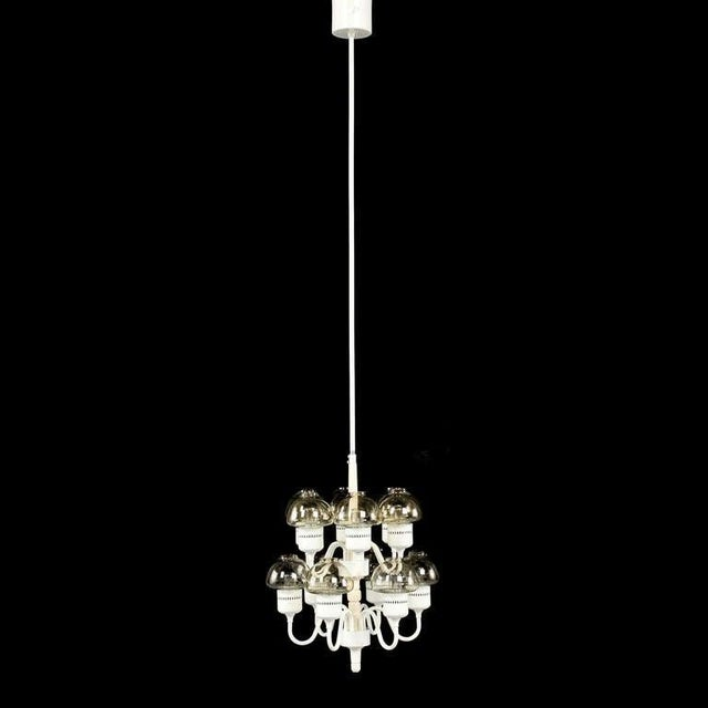 Mid-Century Modern Chandelier by Hans-Agne Jakobsson For Sale - Image 3 of 5