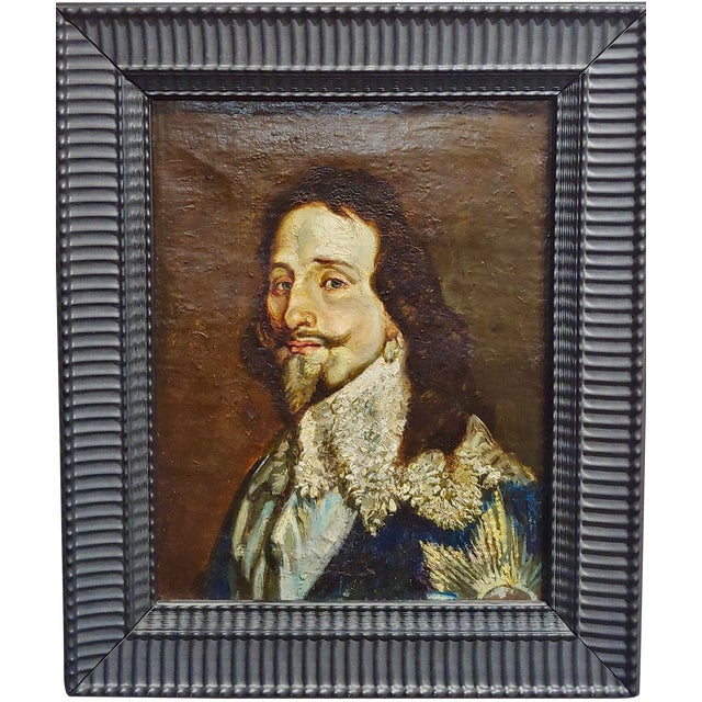 Portrait of a Spanish Gentleman 17th/18th Century Oil Painting For Sale