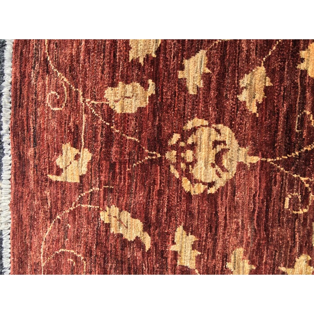 "Brand New Very Soft Turkish Oushak Rug - 5'5"" x 6' - Image 7 of 11"