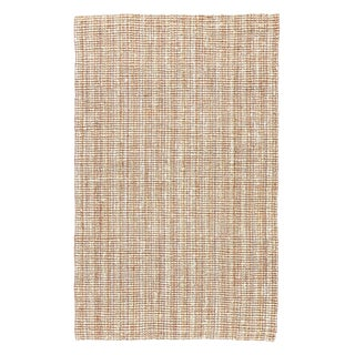 Jaipur Living Marvy Natural Solid Beige & White Area Rug - 9' X 12' For Sale