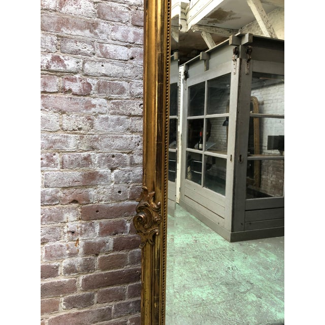 French 19th Century Mirror Style Louis XV For Sale - Image 4 of 7