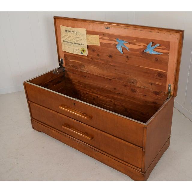 Wood Vintage Dillingham Cedar Chest For Sale - Image 7 of 12