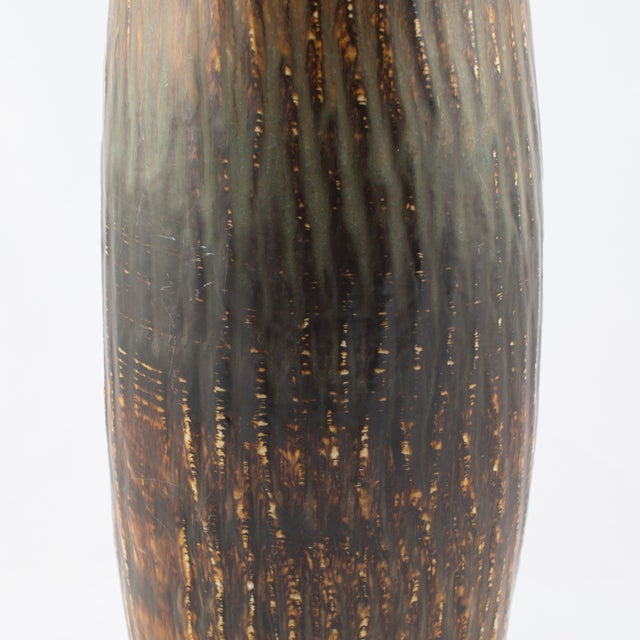 """Gunnar Nylund for Rørstrand """"Rubus"""" Floor Vase Circa 1950s For Sale In New York - Image 6 of 10"""