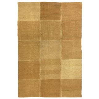 Rug & Relic Patchwork Kilim in Gold and Ochre