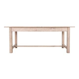 1960s Belgian Farmhouse Table For Sale
