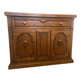 Thomasville Serenade Collection Italian Provincial Flip Top Server For Sale