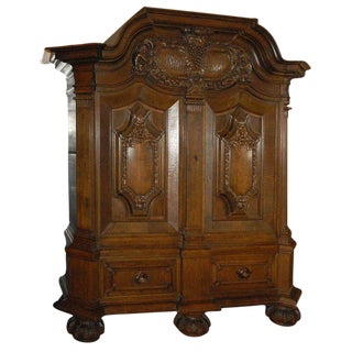 Cushion Kas or Very Large Two Door Cabinet