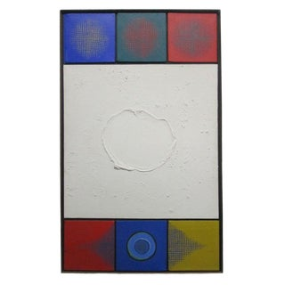 Modern Op Art Wall Hanging For Sale