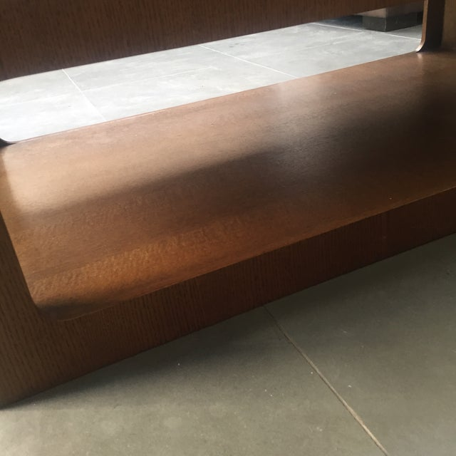Modern Brown Coffee Table - Image 6 of 7