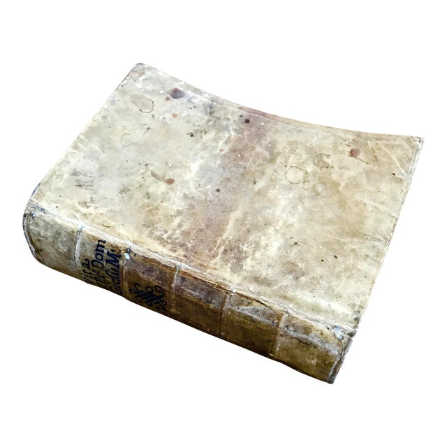 1668 Vellum Covered Text Published in Rome For Sale