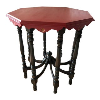 Victorian Style Side Table For Sale