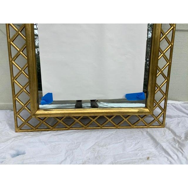 Regency Style Gilt Wood Mirror For Sale In Atlanta - Image 6 of 10