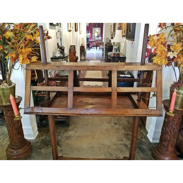 Mid 18th Century 18c French Extra Large Walnut Duet Stand For Sale - Image 5 of 13