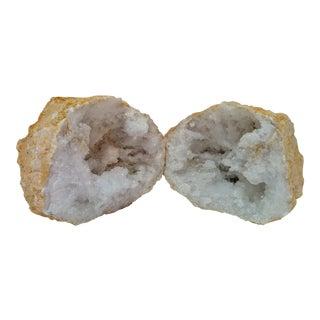 Crystal Geode Display - Set of 2