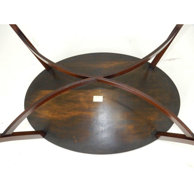 Kittinger Inlaid Mahogany Serving Table For Sale - Image 12 of 13