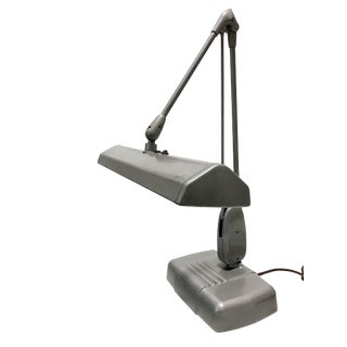 Vintage Dazor Articulated Desk Lamp For Sale