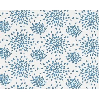 Hinson for the House of Scalamandre Fireworks Fabric in Delphinium For Sale