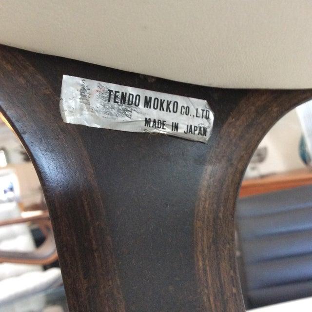 Mitsumasa Sugasawa for Tendo Mokko Mid-Century Modern Heron Rocking Chair For Sale - Image 9 of 10