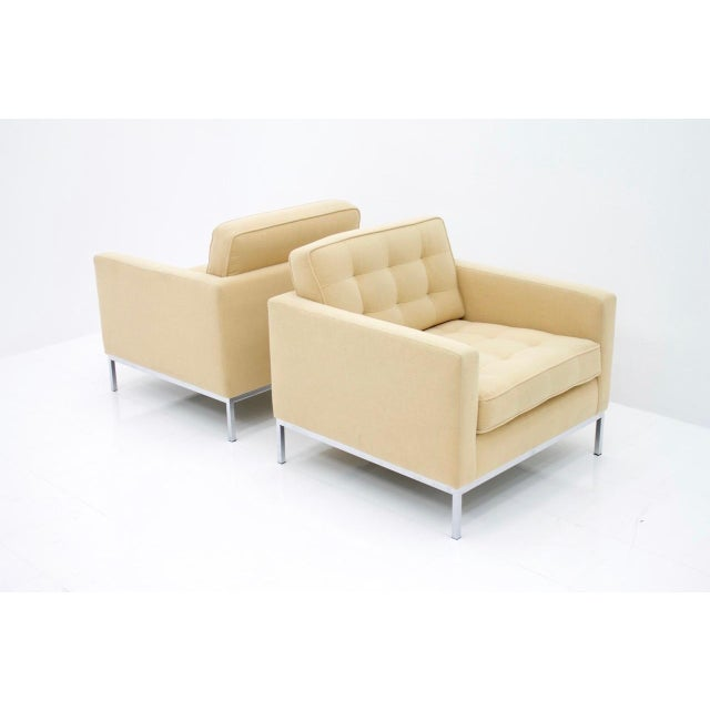 Metal Florence Knoll Lounge Chairs for Knoll International For Sale - Image 7 of 10