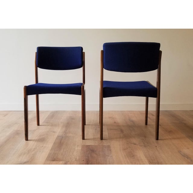 1960s 1960s Danish Rosewood Dining Chairs - Set of 6 For Sale - Image 5 of 13