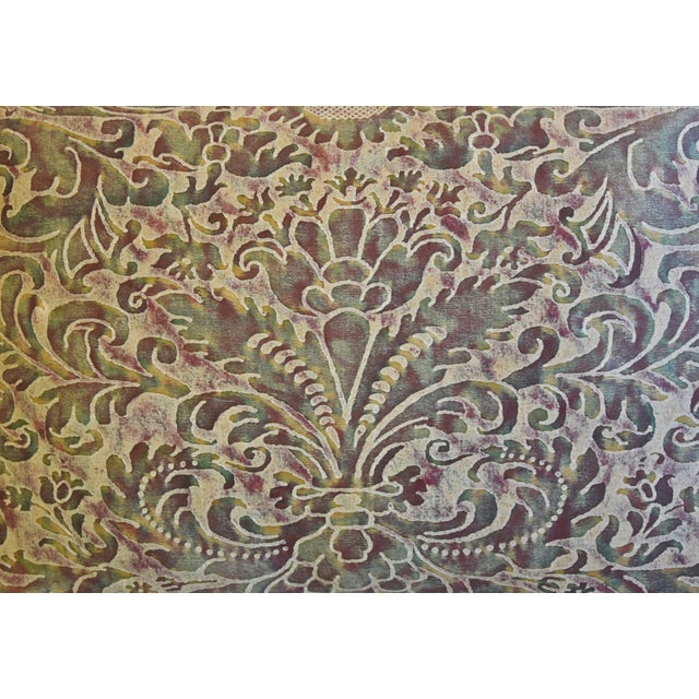 """English Italian Mariano Fortuny Caravaggio Feather/Down Pillow 22"""" X 16"""" For Sale - Image 3 of 8"""