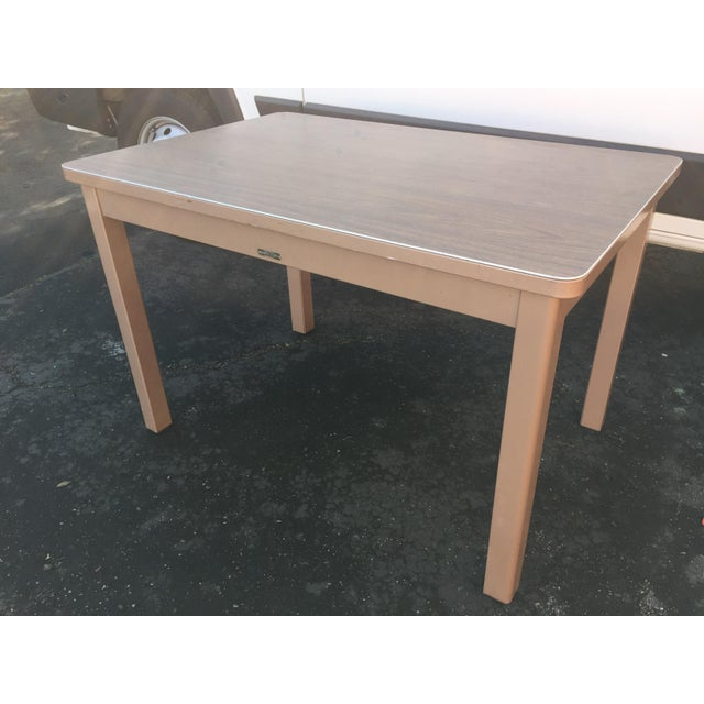 1960s 1960s Industrial McDowell and Craig Metal Writing Desk For Sale - Image 5 of 10