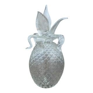 Murano Glass Pineapple Figure