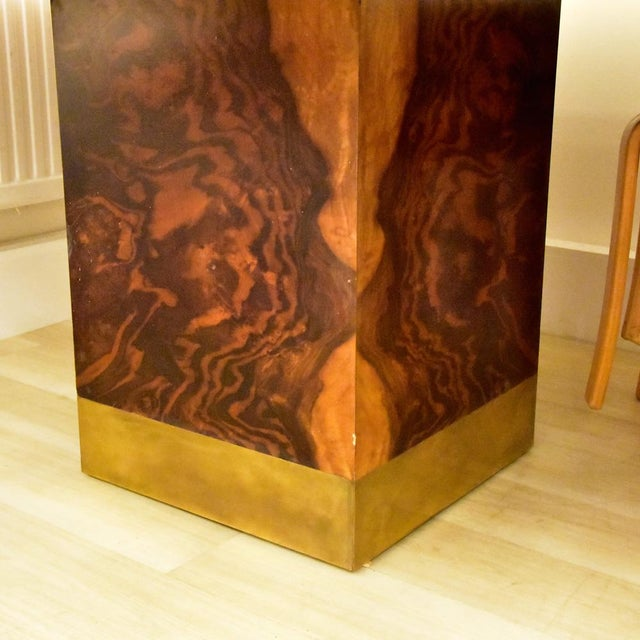 1970s Willy Rizzo Dining Table For Sale - Image 5 of 10