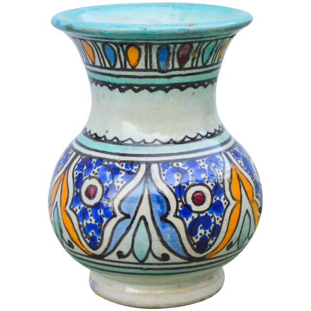 Early 20th Century Antique Andalusian Ceramic Vase For Sale - Image 5 of 10