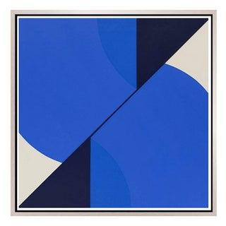 Cuadratura #04 Framed Print on Canvas by Rodrigo Martin For Sale