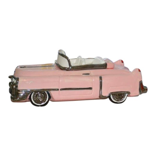 Pink Cadillac Cookie Jar For Sale